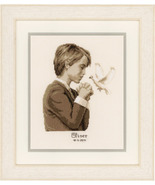 Confirmation Boy Kit 18ct aida cross stitch kit Vervaco   - $29.70