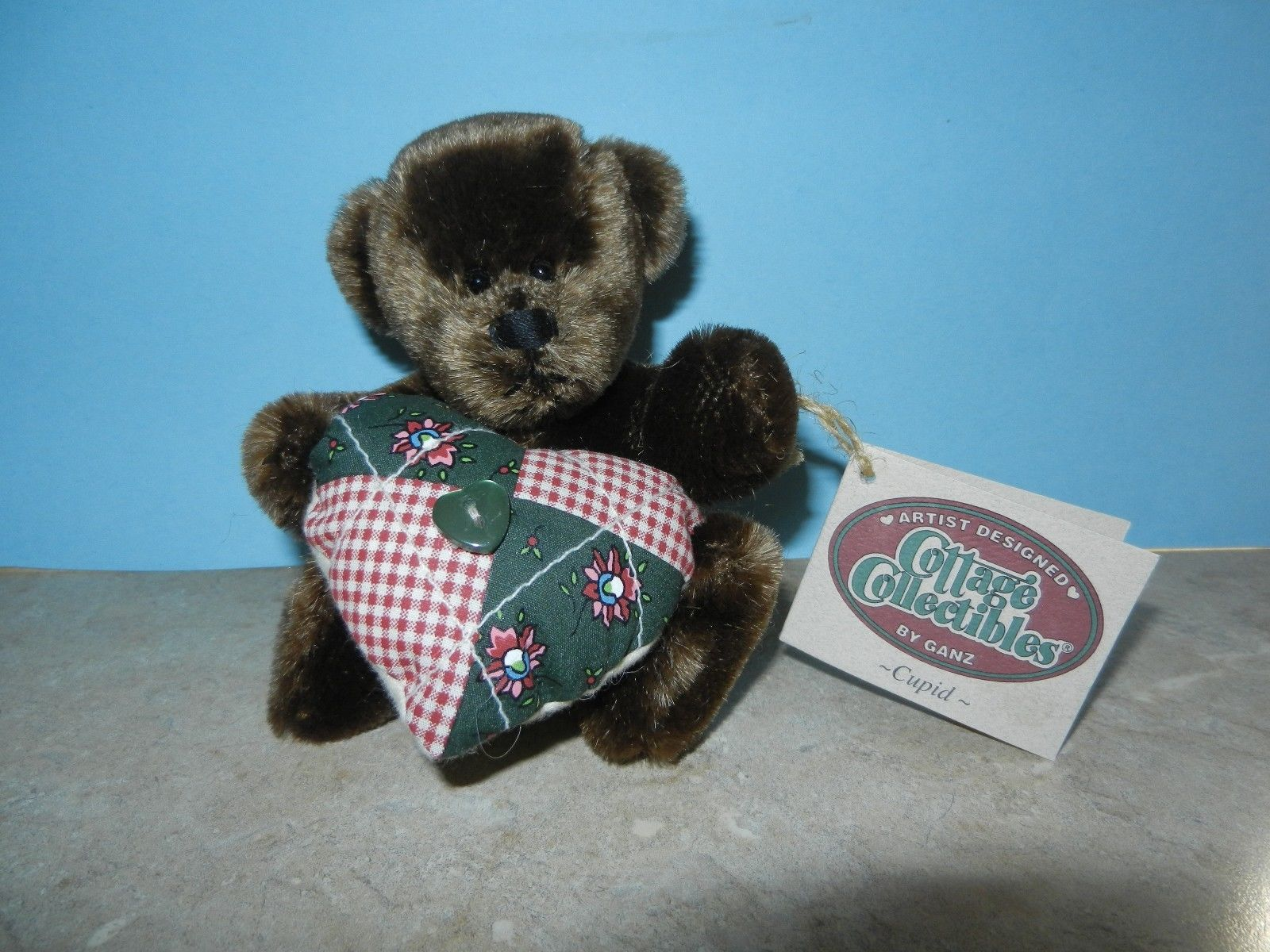 Primary image for Ganz Cottage Collectibles Teddy Bear ~ Cupid ~ Mint MWT Carol E. Kirby Plush