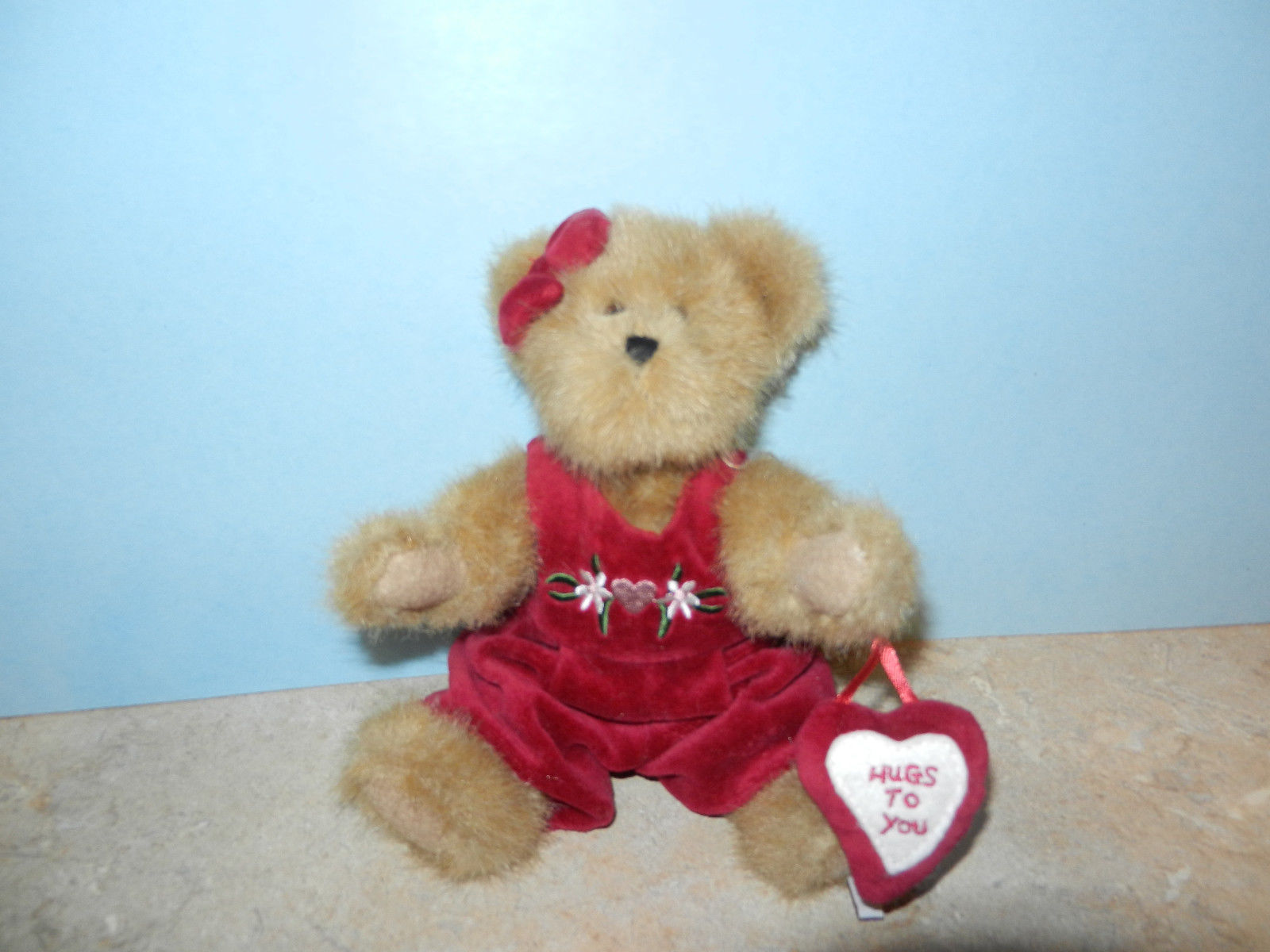 Primary image for Boyds Bears Teddy Bear ~ Miss Hugaby ~ Mint MWT Hugs to You