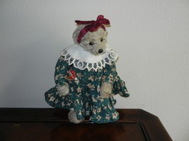 Ganz Cottage Collectibles Teddy Bear ~ Kathy ~ Christmas Version MWT Mint w/ Tag - $54.99