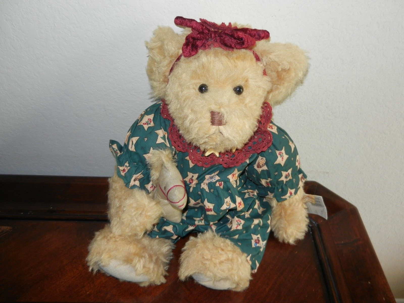 Primary image for Ganz Cottage Collectibles Teddy Bear ~ Celeste ~ MWT Mint w/ Tag Carol E. Kirby