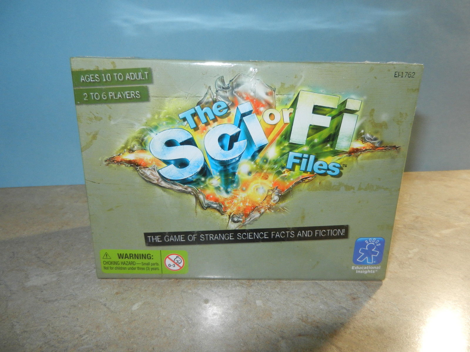 Primary image for The Sci or Fi Files Family SciFi Strange Facts and Fiction Game NEW in Box