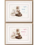 Birth Announcement Kit 14ct aida baby birth cro... - $31.50
