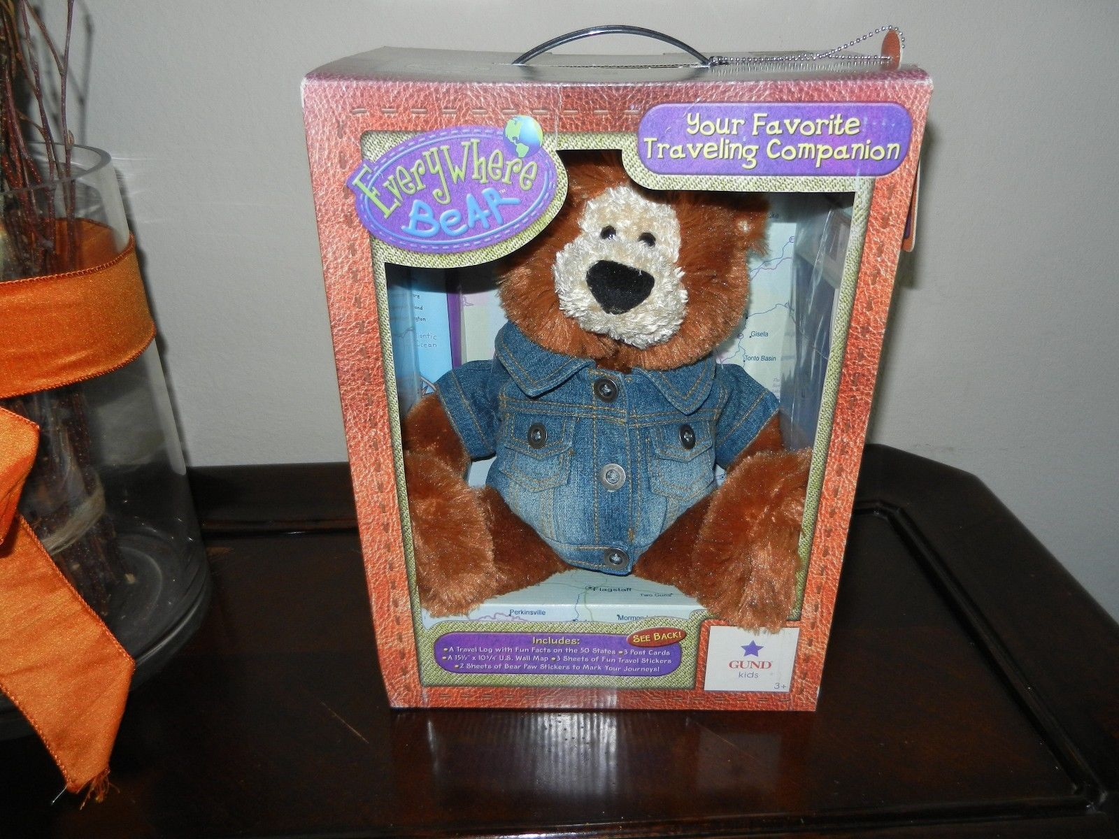 Primary image for Gund Stuffed Plush Teddy Bear ~ Everywhere Bear ~ NWT New with Tags in Box NIB