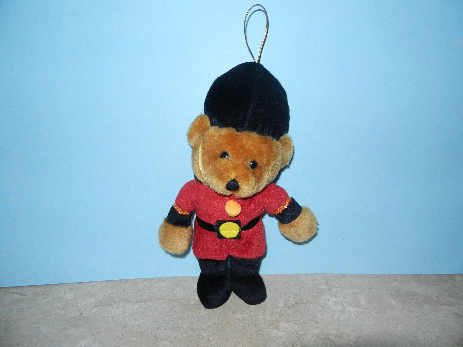 "Primary image for Stuffed Plush Toy Soldier Palace Guard Teddy Bear Ornament 9"" Tall"