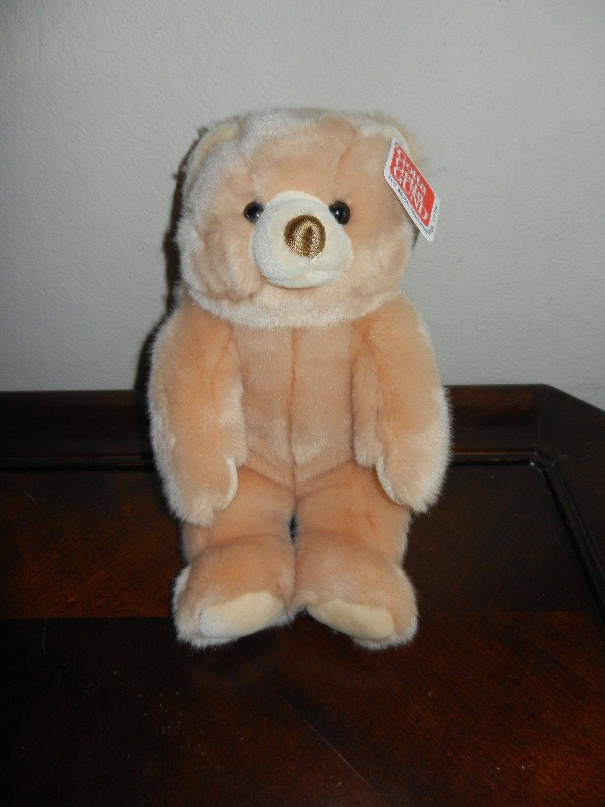 Primary image for Gund Stuffed Plush Teddy Bear ~ Cubbins ~  Soft Tan Fluffy NWT New with Tags