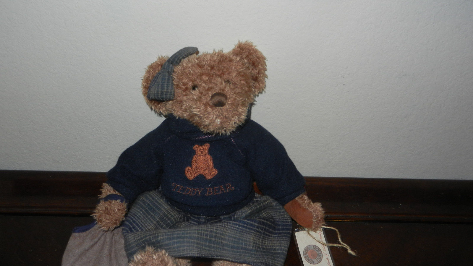 "Primary image for Russ Teddy Bear ~ Lady Laine ~ with Tags & COA Large 14"" Sweater Bag & Skirt"
