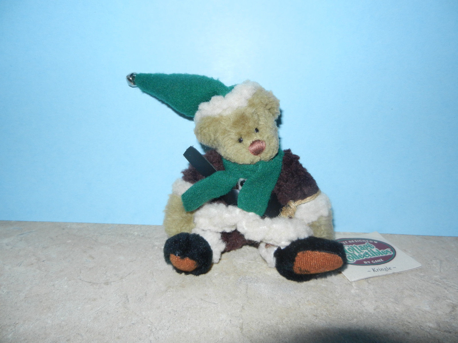 Primary image for Ganz Cottage Collectibles Teddy Bear ~ Kringle ~ Christmas MWT Lorraine Chien