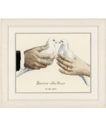 Wedding Doves Kit 14ct aida cross stitch kit Ve... - $31.50