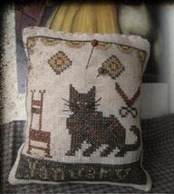 January Cat Calendar Of Animals cross stitch chart Niky's Creations - $12.60