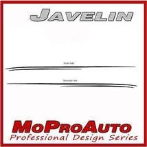 2012 JAVELIN Camaro Graphics Decals Stripes Pin... - $78.39
