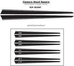 2011 HOOD SPEARS Camaro Decals * Premium 3M Vin... - $63.69