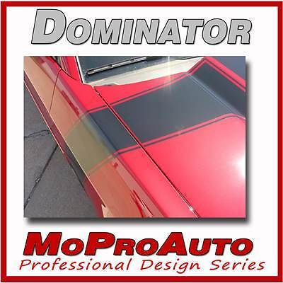 BOSS Ford MUSTANG - Pro Grade 3M Hood Side Stripes Graphic Decals 2012 205