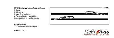 BREAKDOWN Vinyl GRAPHICS Rocker Panel Decal Stripes Dodge Magnum U9I