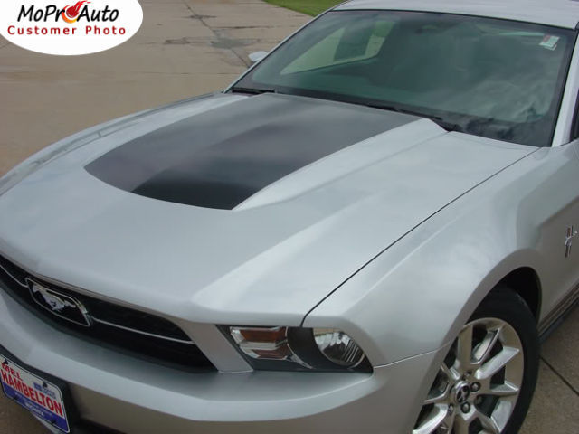 Mustang Factory Style Vinyl HOOD GRAPHIC Decal Stripe - 3M Pro Grade 2011 354