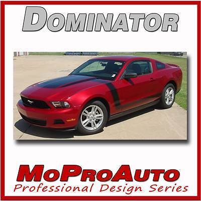 BOSS Ford MUSTANG Hood Side Stripes - 3M Pro Grade Graphic Decals 2010 511