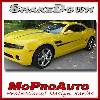 2010 Camaro SHAKEDOWN Stripes Graphics Decals - Pro Grade 3M Vinyl SS RS 429
