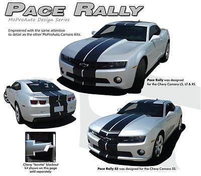 2012 PACE RALLY Camaro Vinyl Racing Stripes Decals - 3M Pro Vinyl SS 186