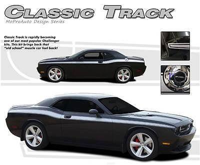 Dodge CHALLENGER CLASSIC Side Stripes 3M Decals - 3M Pro Grade 2012 * 515