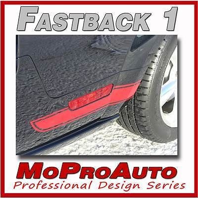 - 3M Pro Grade FASTBACK 1 Mustang Vinyl GRAPHICS Stripes Decal 2007 588