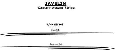 JAVELIN 2010 Camaro Graphics - Premium 3M Vinyl Decals Stripes Pinstriping 829