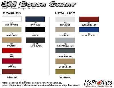 GETAWAY Mustang C STRIPE Vinyl Decals Graphics 2011 - 3M Pro Grade 339