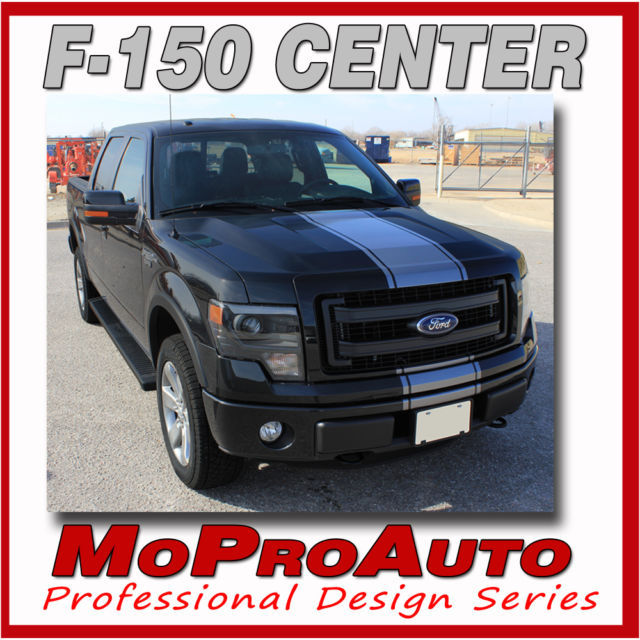 2009 F-150 CENTER STRIPE Wide Racing Decals Stripes Graphics- 3M Pro Vinyl 14S