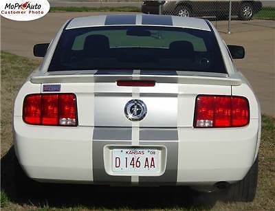 Mustang V6 Racing Rally Stripes Decals Graphics 2008 * 946