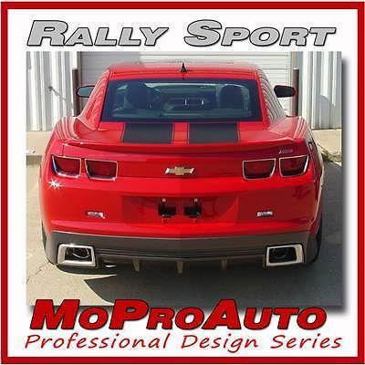 RALLY SPORT 2010 Camaro Racing DECK TRUNK Stripes - Pro Grade 3M Vinyl 622