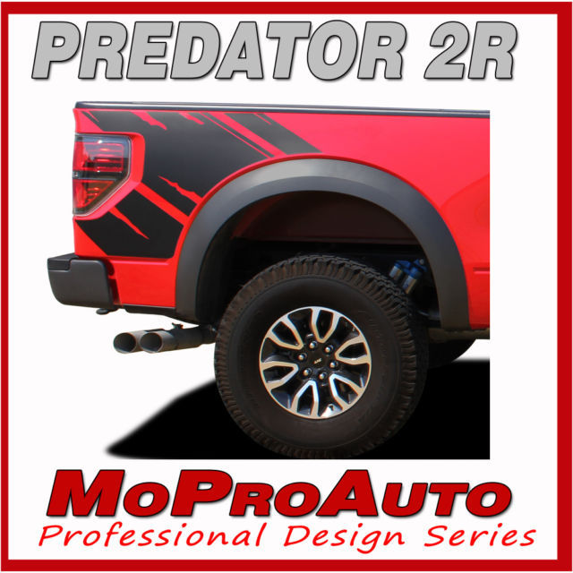 PREDATOR FORD Raptor Style Only 2009 Decals Stripes Graphics- 3M Pro Vinyl FD5
