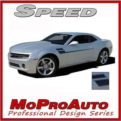 SPEED 2011 Chevy Camaro Vinyl Graphic Decals Stripes - Pro Grade 3M Vinyl 537
