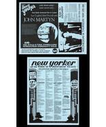 British folk JOHN MARTYN 1977 Toronto Concert HANDBILL Flyer - $19.99