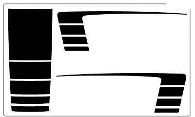 Dodge Ram Bed Side Graphics Decals Stripes - 3M Pro Vinyl 2012 CC9