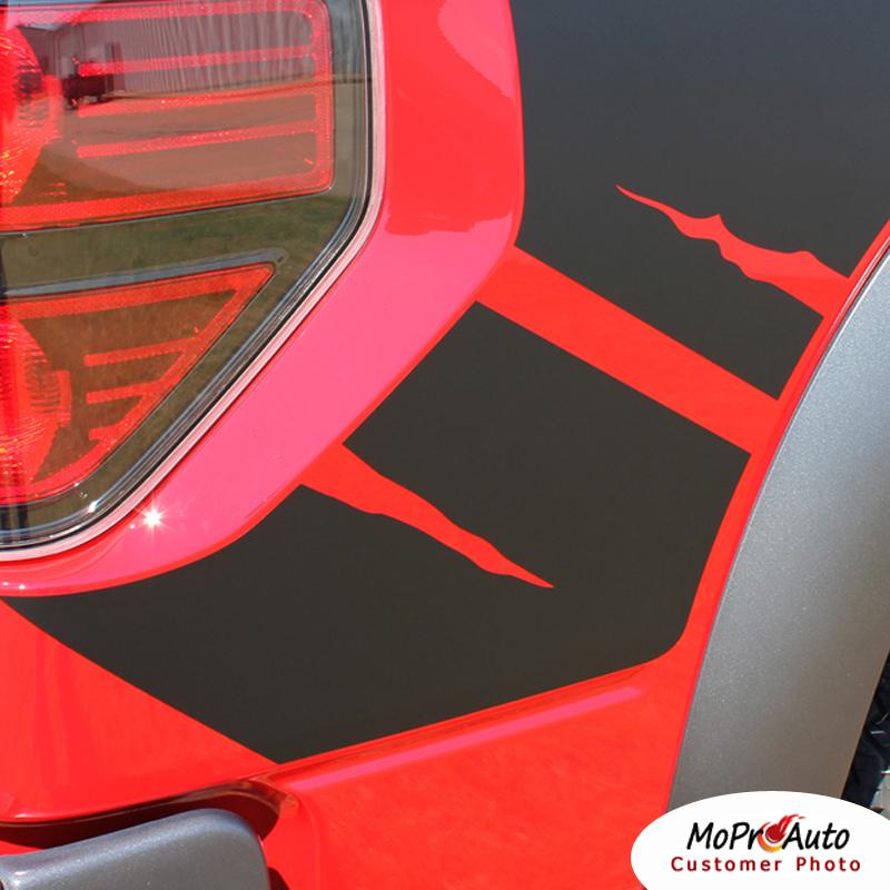 PREDATOR Raptor Style FORD 2012 SVT Decals Stripes Graphics- 3M Pro Vinyl WR34