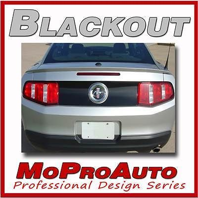 Mustang HOOD SPEARS BLACKOUT Decal Stripe - 3M Professional Graphics 2012 991