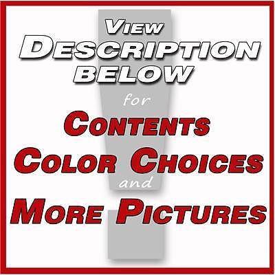 2010 BLACKOUT Camaro Decals Stripes Graphics REAR SS / 3M Pro Vinyl 361