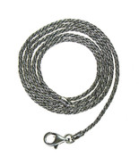 Gerochristo 3053 -  Sterling Silver Antique Look Chain   - 40 cm  - $78.00