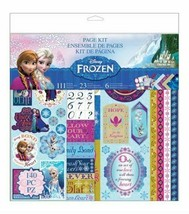 Disney Frozen Scrapbooking Page Kit - Includes 140 Pieces!