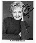 8 x 10 Autographed Photo of Florence Henderson  RP - $2.19
