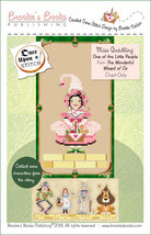 Once Upon A Stitch: Miss Quadling Little People Wizard of Oz Chart Brookes Books - £4.36 GBP