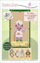 Once Upon A Stitch: Mr. Gillikin Little People Wizard of Oz Chart Brooke... - $5.40