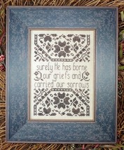 Griefs and Sorrows MBT150 cross stitch chart My Big Toe Designs - $8.00
