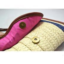 Vintage Straw Tassels Women Messenger Clutch Bags image 6