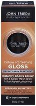 John Frieda Precision Colour Refreshing Gloss for Warm Brunettes, 6 Fluid Ounce - $6.99