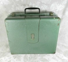 Elna Supermatic Sewing Machine Green Metal Portable Case ONLY OEM - $39.59