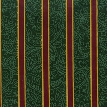 Longaberger 1996 Holiday Cheer Over the Edge Liner Imperial Stripe Fabric - $12.68