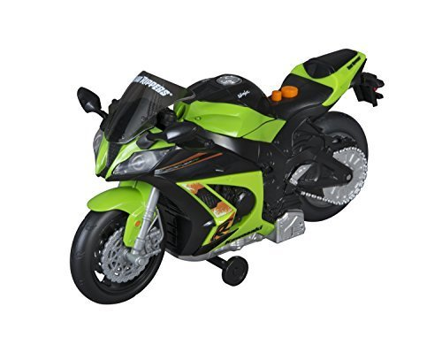 Toy State Road Rippers Wheelie Bikes Kawasaki Ninja ZX-10R Light And Sound Motor