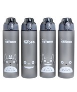 Cartoon Totoro Water Bottle Portable Sports Camping Cycling Juice Plastic  - €11,40 EUR
