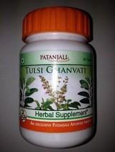 2pc Combo Patanjali Natural Tulsi Ghanvati 40gms/80 Tabs Baba Ramdev Pro... - $15.33