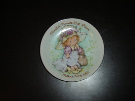 Avon Cherished Moments Last Forever Mothers Day 1981 collector plate mint - $5.99